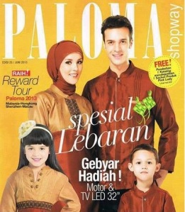 Cover Paloma Fashion Edisi 25
